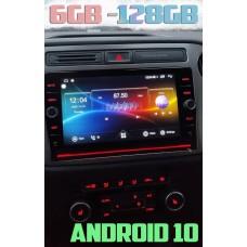 Андройд магнитола с 2,5D экраном для Volkswagen Tiguan