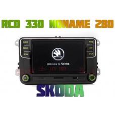 Штатная магнитола RCD 330-280 Noname для Skoda