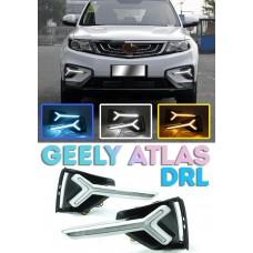 Штатные ходовые огни для Geely Atlas