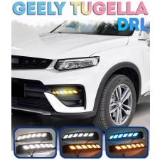 Штатные ходовые огни для Geely Tugella