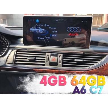 Андроид магнитола для Ауди А6 С7 с экраном 10,25 дюйма