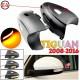 Динамические поворотники в зеркала для Фольксваген Тигуан 2008-2016