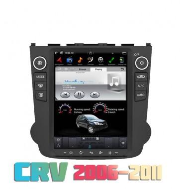 Андроид магнитола в стиле Тесла для Honda CRV 2006-2016