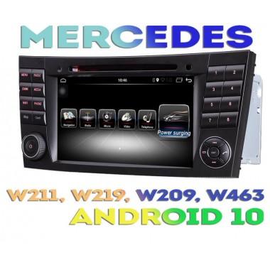 Андроид магнитола T36-8856 для Mercedes W211, W219, W209, W463