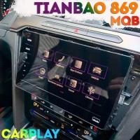 Штатная магнитола Tianbao 869 с беспроводным CarPlay для платформы MQB