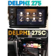 Штатная магнитола DELPHI 275 для платформы MQB