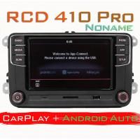 Штатная магнитола RCD 410 Pro с CarPlay и Android Auto для Фольксваген, Шкода
