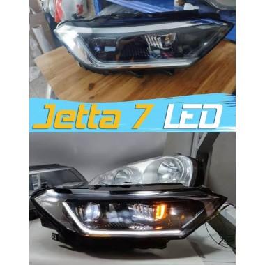 Штатная передняя LED оптика для Jetta 7
