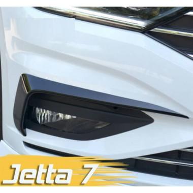 Декоративные накладки на противотуманные фары Jetta 7