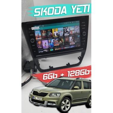 Андройд магнитола с 2,5D экраном для Skoda Yeti
