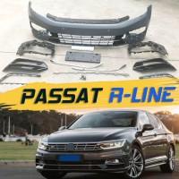 Передний бампер R-line для Passat B8